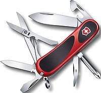 Швейцарский оригинальный складной нож Victorinox EvoGrip 24903.C красный