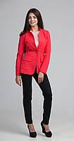 Стильный женский пиджак с накладными карманами, фото 1