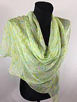 Молодежный легкий шарф(Углы по косой) (цв 11)