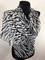 Молодежный легкий шарф(Углы по косой) (цв 15)