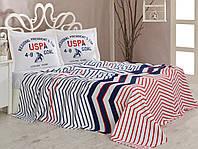 Комплект постельного пике 160х220 U. S. Polo Assn DRIGGS
