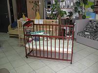 Кровать детская Наталка (ольха тёмная)