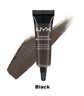 NYX Eyebrow Gel. Гель для бровей. Black