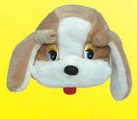Карнавальная маска - шапка Собачка
