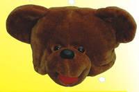 Карнавальная шапка - маска Медведь