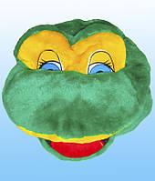 Карнавальная шапка - маска Лягушонок
