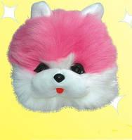 Карнавальная шапка - маска Розовый Котенок