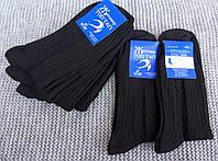 Носки мужские Осенние полушерстяные, черные Топ-Тап, г. Житомир НМЗ-7, фото 1