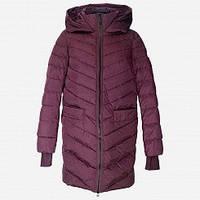 Пуховик  женский snowimage v516 красно-фиолетовый