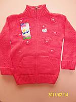 Теплый свитер  для девочки  6-7, 8-9 лет. Турция! Кофта, джемпер, свитер детские