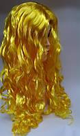 Парик карнавальный Золотистые длинные волосы