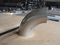 Нержавеющий поровот 42,4х3,0 пищевая сталь