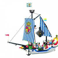 """Детский конструктор """"Пиратский корабль"""" Brick 305 (310 дет.)"""