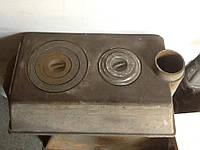 Чугунная буржуйка для отопления и приготовления пищи