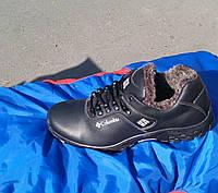 Мужские зимние ботинки, Columbia кожа 40-49 р-р