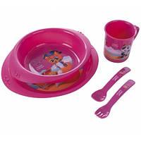Набор посуды пластиковый «Пираты»