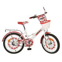 Велосипед Профи Украина Стиль  18 дюймов Profi Style двухколесный для девочки детский