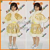 Карнавальный костюм Овечка | Новогодний костюм для девочек