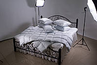 Одеяло двуспальное Евро 200х220, Luxe collection 500 г (90% серый гусиный пух)