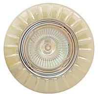 Точечный светильник MR16 RG093A CH+WH белый (керамика)