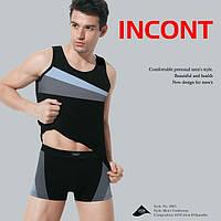 Комплект мужского нижнего белья майка+трусы боксеры ТМ Incont