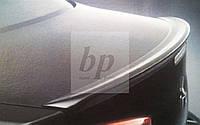 Lip Spoiler (лип спойлер багажника - сабля) Mitsubishi lancer X (митсубиси лансер Х (10) 2007+)