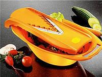 Судок Бернер (Borner) V-Прима оранжевый подходит для всех терок