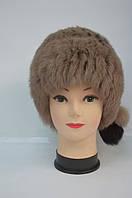 Модная женская меховая шапка кубанка