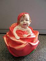 Подарок для семьи - копилка Малышка в розе