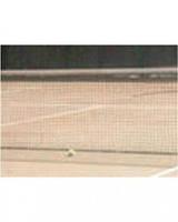 Сетка для большого тенниса олимпийская РЕ-2 черная с тросом d=2мм