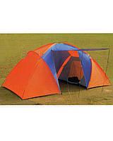 Палатка 4х местная 2х комнатная с тамбуром HL-D06