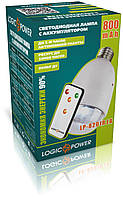 Лампа Logicfox LP-8201R LA 800мАч  Цоколь E27