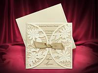 Красивые приглашения на свадьбу цвета айвори, запрошення на весілля