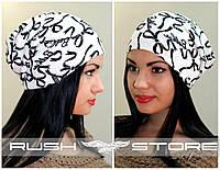 Красивая женская шапка из ангоры