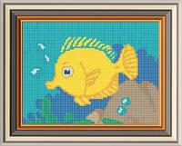 Схема для вишивки бісером Морська рибка. Арт. СД-074