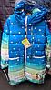 Детская курточка подкладка утеплена флисом