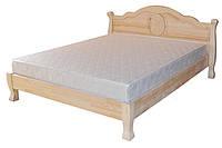 Деревянная Кровать «Анна Элегант» Эко (массив дерева 100%)