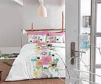 Набор постельного белья сатин печатный 200х220 Cotton box DILA GULKURUSU