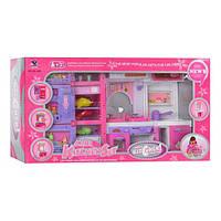 Кухня. Мебель для кукол 498. Домик для барби