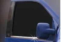 Хром молдинг стекла (оконтовка окна) Mercedes Vito 638 (мерседес вито 638), нерж.