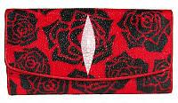 Кошелёк из кожи ската ST 52 PR 001 Red