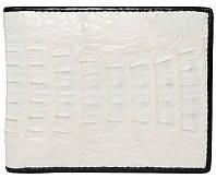 Портмоне из кожи крокодила ALM 7T White