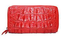 Сумка/кошелёк из кожи крокодила ZAM 15 T Red