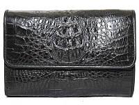 Кошелёк из кожи крокодила PMT 81 Black