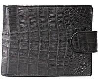Портмоне из кожи крокодила ALM 100T Black
