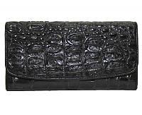 Кошелёк из кожи крокодила PCM 03 T Black