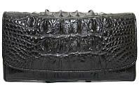 Кошелёк из кожи крокодила PCM 03 T-2 Black