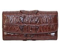 Кошелёк из кожи крокодила PCM 03 BT Brown