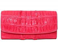 Кошелёк из кожи крокодила PCM 03 BT Pink
