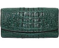 Кошелёк из кожи крокодила PCM 03 CB Green